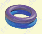 Medium Rubber Rings - colors may vary