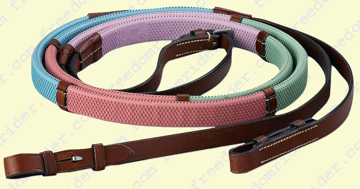 Rubber Rainbow Reins in Pastels