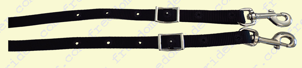Adjustable Handle Reins Clip Ends