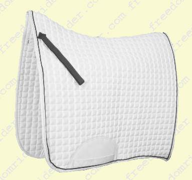 Ecole Swallow Tail Competition Dressage Saddle Pad
