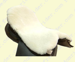 English Dressage Deluxe Sheepskin Seat Saver