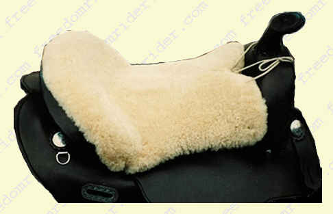 Western, Endurance and Trail Sheepskin Seat Saver