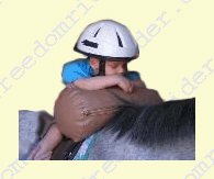 Therapeutic Riding Bolster