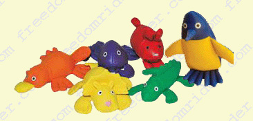 Bean Bags With Animal Shapes
