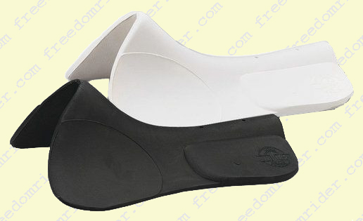 Roma Protek Saddle Pad with Lift Back Black
